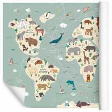 Kolorowa mapa świata dla 520x318 /1135713939