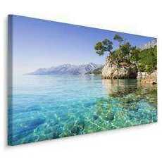 Obraz Riwiera Makarska, Chorwacja 120x80