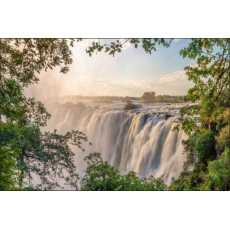 Fototapeta Wodospad w Lesie 400x280 /224141869