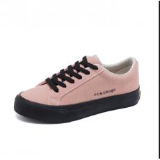 Women Sneakers Flock Shoes