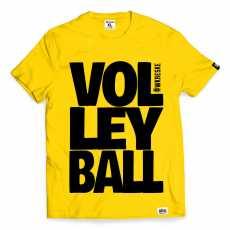 Koszulka męska dla siatkarza Volleyball żółta XL