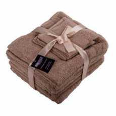 Highliving®Komplet 6 sztuk ręczników  100% egipska bawełna  Supreme  zestaw 6...