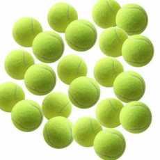 Highliving®Zabawka dla psa Piłki tenisowe 12 szt