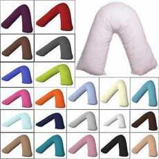 HIGHLIVING®Poduszka w kształcie litery V Poduszka ortopedyczna dla kobiet w...