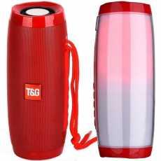 Głośnik Bluetooth TG157 + Kabel AUX minijack 3,5cm + Kabel Micro USB czerwony