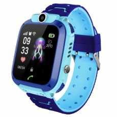 Zegarek SMARTWATCH dla dziecka Q12 SIM IP67 (niebieski)